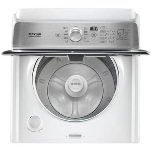 Maytag 4.7 cu. ft. Top Load Washer with the Deep Fill Option & PowerWash Cycle – 4.7 cu. ft.