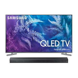 "Samsung 55"" Q6F Smart QLED 4K UHD TV with 3Ch Soundbar"