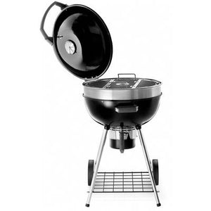 Professional Charcoal Kettle Grill - Black