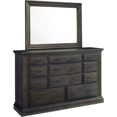 Fordham Drawer Dresser with Mirror