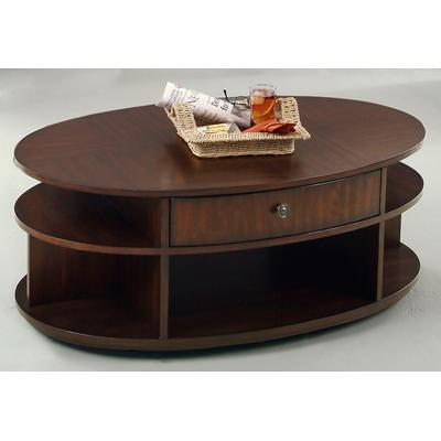 Metropolitan Oval Castered Lift-Top Cocktail Table