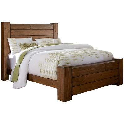 Maverick Queen Panel Complete Bed