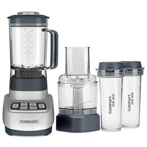 Cuisinart VELOCITY Ultra Trio 1 HP Blender/Food Processor with Travel Cups