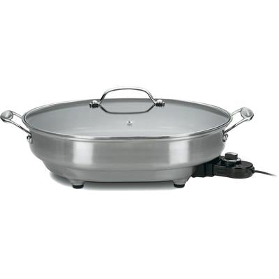 Cuisinart 5.5 Quart Oval Electric Skillet