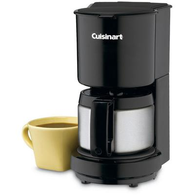 Cuisinart 4-Cup Coffeemaker with Stainless Steel Carafe - Black