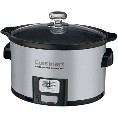 Cuisinart 3.5 Quart Programmable Slow Cooker - Brushed Stainless Steel