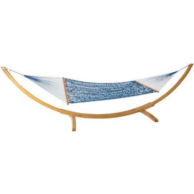 Large Original DuraCord Rope Hammock  - Coastal Blue