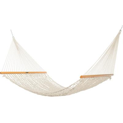 Presidential Size Original DuraCord Rope Hammock - Oatmeal