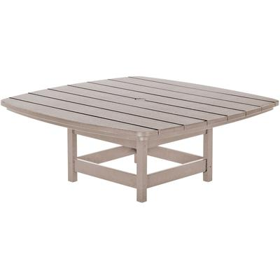 Conversational Table - Weatherwood