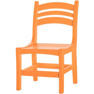 Casual Dining Chair - Orange