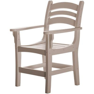 Casual Dining Chair with Arms - Weatherwood