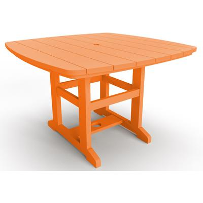 "46"" x 72"" Dining Table - Orange"