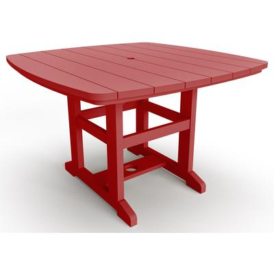 "46"" x 72"" Dining Table - Red"