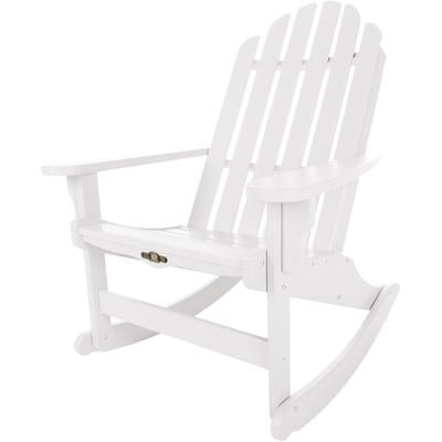 Essentials Adirondack Rocker - White