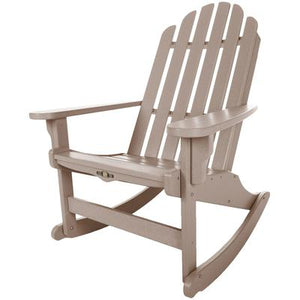 Essentials Adirondack Rocker - Weatherwood