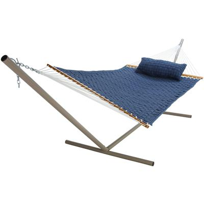 Large SoftWeave Hammock - Blue