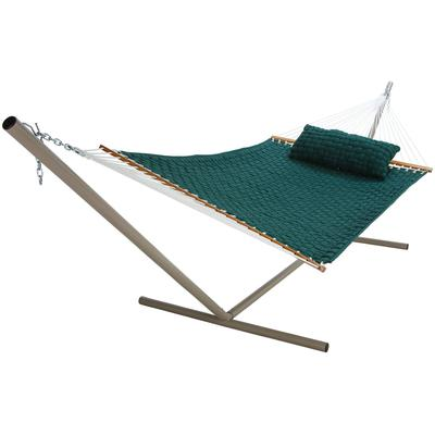 Large SoftWeave Hammock - Green