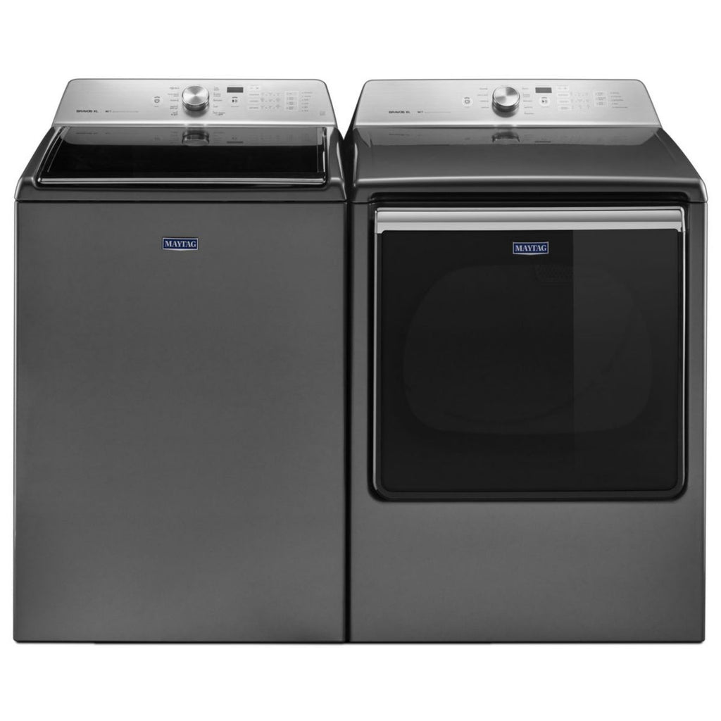 Maytag 5.3 cu. ft. Top Load Washer & 8.8 cu. ft. Electric Dryer