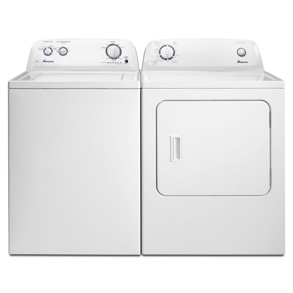 Amana 3.5 cu. ft. Top Load Washer & 6.5 cu. ft. Gas Dryer