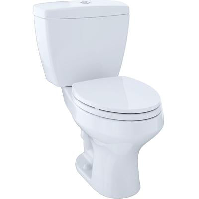 Rowan Two-Piece Elongated Dual-Max, Dual Flush 1.6 and 1.0 GPF Universal Height Toilet