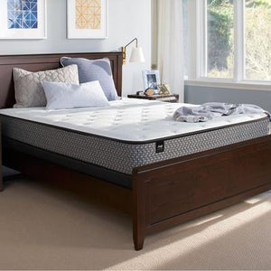 "Sealy Response Essentials 10.5"" Full Plush Tight Top Mattress with 9"" High Profile Foundation Set"