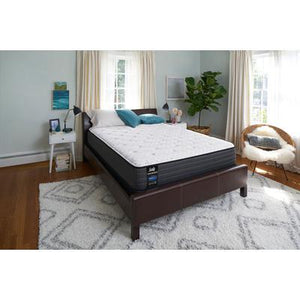 "Response Performance 12"" Full Hallie Grace Cushion Firm Tight Top Mattress with 9"" High Profile Foundation Set"