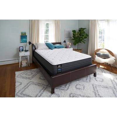 "Sealy Response Performance 12"" Queen Cushion Firm Tight Top Mattress with 9"" High Profile Foundation Set"