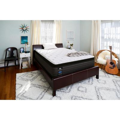 "Response Performance 14"" King Hallie Grace Plush Pillowtop Mattress with 9"" High Profile Foundation Set"