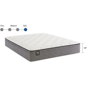 "Response Essentials 11.5"" Queen Rio Blanco Plush Euro Top Mattress"