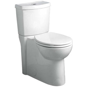 Studio Dual Flush Right Height Round Front 1.1/1.6 gpf Toilet - White