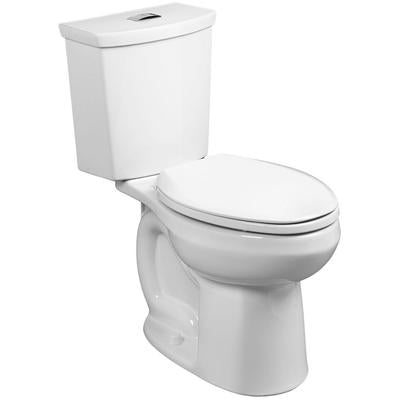 H2Option Elongated Two Piece Toilet - White