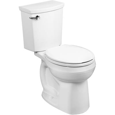 H2Optimum Round Toilet - White