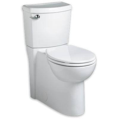 Cadet 3 Flatwise Right Height Round Front Concealed Trapway 1.28 gpf Toilet - White