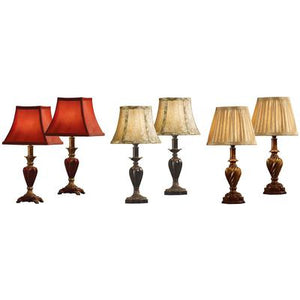 Accent Lamp Assortment - Set of 6