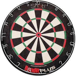 Bandit Plus Staple-free Bristle Dartboard