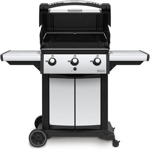Signet 320 Liquid Propane Grill - Black/Stainless