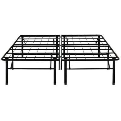 "Boyd 18"" Full Hypoallergenic Metal Platform Bedframe Box Spring Replacement"