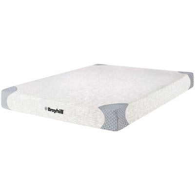 "Broyhill 10"" Cooling Symmetry King Memory Foam Mattress"