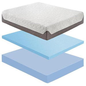 "8"" Full Coolplex Memory Foam Mattress in a Box"