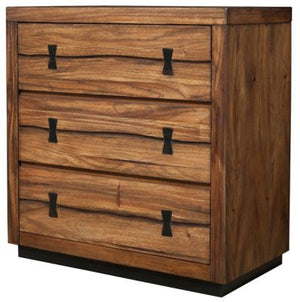 Live Edge 3-Drawer Small Chest