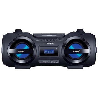 Toshiba Portable CD/MP3/USB/SD Wireless Boombox