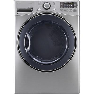 LG TrueSteam 7.4 Cu. Ft. 12-Cycle Electric Dryer with Steam