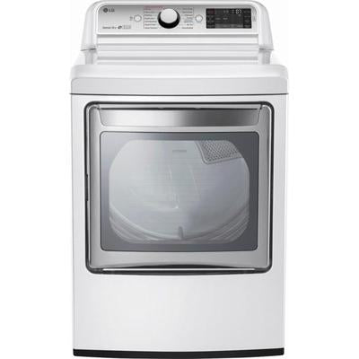 LG 7.3 Cu. Ft. 14-Cycle Electric Dryer with Steam