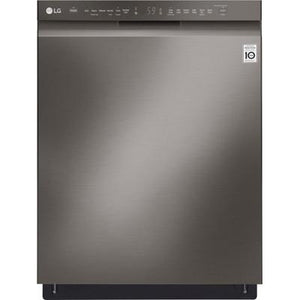 "LG 24""Front Control Built-In Dishwasher with QuadWash and Stainless Steel Tub"
