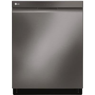 "LG 24""Top Control Smart Wi-Fi Enabled Dishwasher with QuadWash and Stainless Steel Tub"