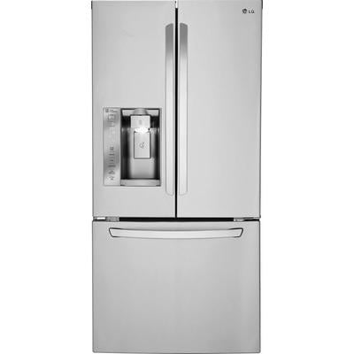 LG 24.2 Cu. Ft. French Door Refrigerator with Thru-the-Door Ice and Water