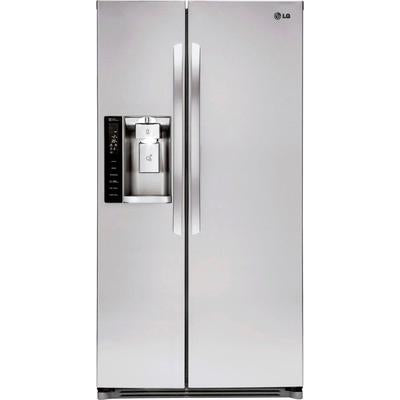 LG 26.2 Cu. Ft. Side-by-Side Refrigerator with Thru-the-Door Ice and Water