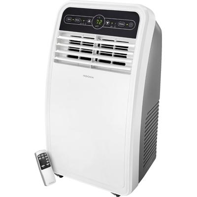 Insignia - 350 Sq. Ft. Portable Air Conditioner - White/Gray
