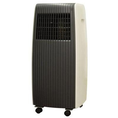 SPT - 250 Sq. Ft. Portable Air Conditioner - Dark Gray/White