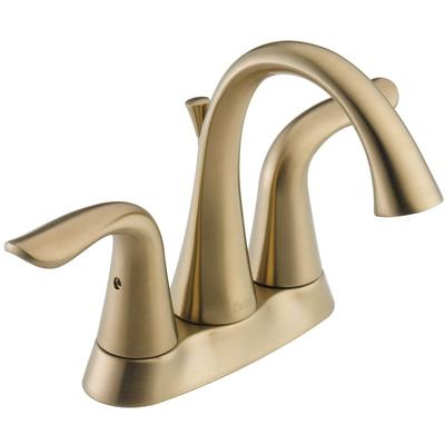 Lahara Two-Handle Center set Bathroom Faucet - Champagne Bronze